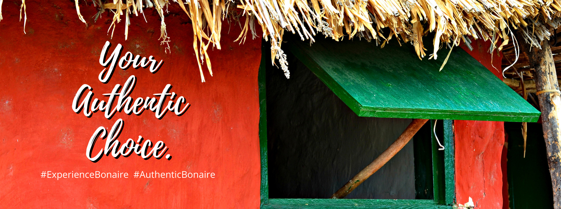 Your Authentic Choice #ExperienceBonaire #Authentic Bonaire